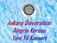 Ankara Üniversitesi Alegria Yeni Yıl Konseri