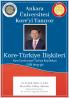 Ankara Üniversitesi Kore'yi Tanıyor